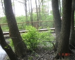 Długi mostek promenada