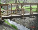 Kładka za mostem