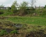 Jar nad Ślepiotką (ul. Jankego) - widok w stronę garaży na os. Szenwalda