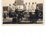 Piekarze na furmance przed 1940 rokiem