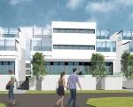 Wizualizacja budynku nr 1A, 1B, 1C od ulicy Wojska Polskiego