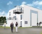 Wizualizacja budynku nr 2D