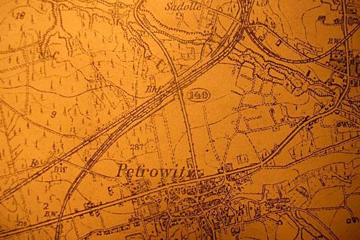 Mapa Petrowitz