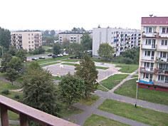 Niebieskie bloki w Piotrowicach
