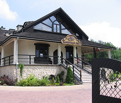Restauracja Villa Rossa