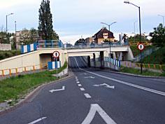 Wiadukt kolejowy przy stacji PKP