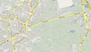 Droga Krajowa 81 - lokalizacja inwestycji