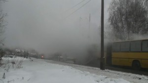 Płonący Autobus