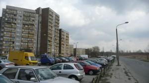 Ulica i parking Radockiego