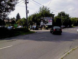 Wypadek przy skrzyżowaniu Kostki Napierskiego i Armii Krajowej