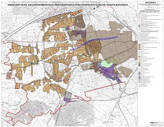 Miejscowy plan zagospodarowania przestrzennego południowych dzielnic Katowic