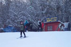 Wyciąg narciarski SOPELEK