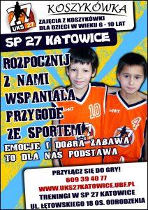 Koszykówka UKS SP 27 Katowice