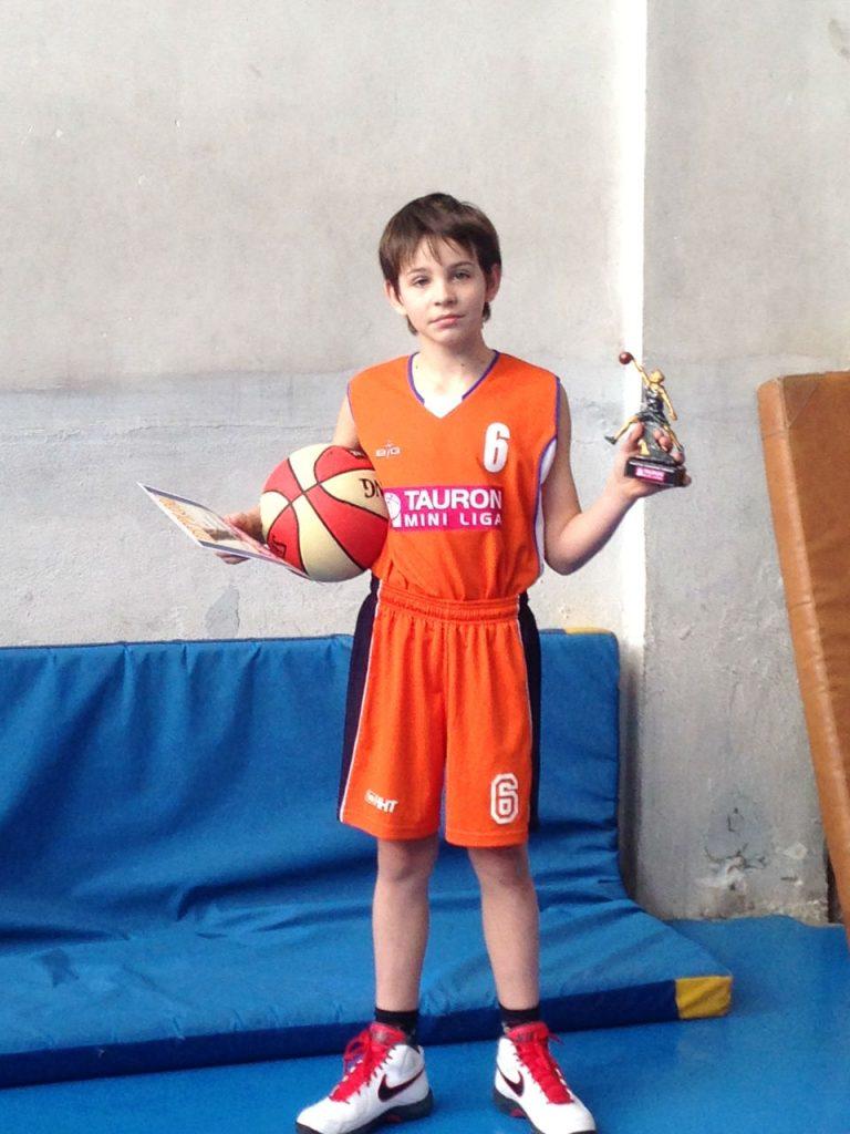 Filip Kempski - zawodnik turnieju