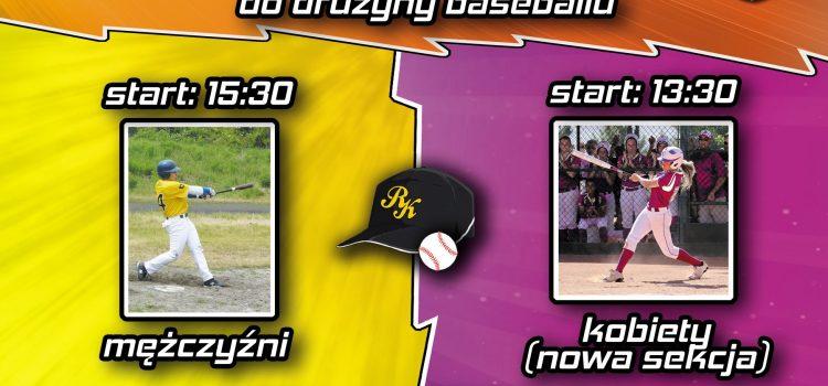 Rawa Katowice szuka baseballistów oraz baseballistek!