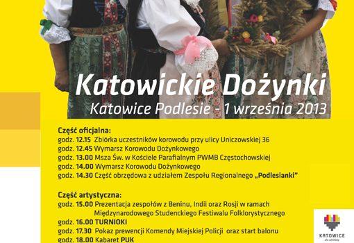 Katowickie Dożynki 2013 w Podlesiu