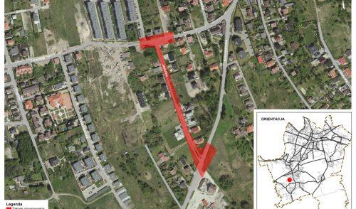 Budowa drogi wraz z infrastrukturą towarzyszącą ulicy Jaskrów
