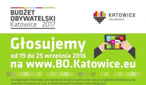 Dzielnicowe projekty w Budżecie Obywatelskim do realizacji w 2017 roku (głosowanie)