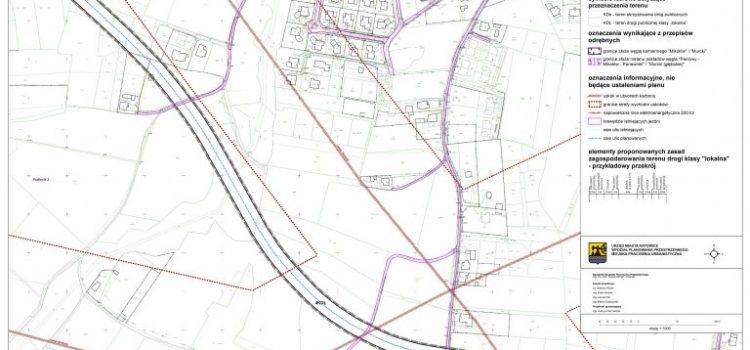 Nowa droga na południu Katowic od Sandacza do Rolniczej – mapa przebiegu