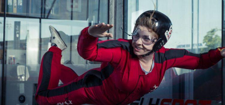 Loty w tunelu aerodynamicznym – teraz również w Katowicach!