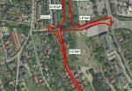 Budowa układu drogowego w rejonie ul. Kalinowej, Wilczewskiego – etap I: połączenie drogowe ul. Armii Krajowej z ul. Wilczewskiego wraz z ciągiem pieszym
