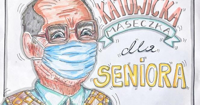 Maseczka dla Seniora