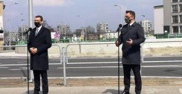 Oficjalne otwarcie ronda i węzła DK81 Kościuszki – Armii Krajowej