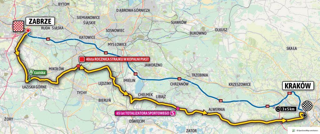 Etap 7 Tour de Pologne 2021